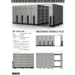 Mobile File Mekanik Alba MF AUM 3-04 ( 150 Compartments )